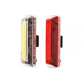 Moon Comet X Front and Rear Light Set