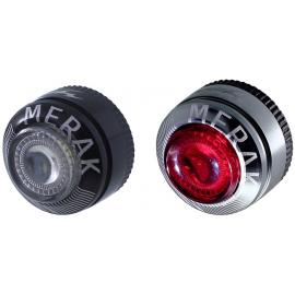 Moon Merak Front and Rear Light Set