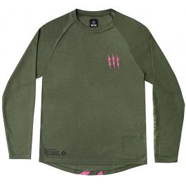 Muc-Off Long Sleeve Riders Jersey Green