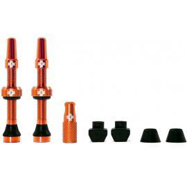 Muc-Off Tubeless Valve Kit 44mm/Orange
