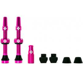 Muc-Off Tubeless Valve Kit 44mm/Pink