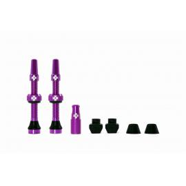 Muc-Off Tubeless Valve Kit 44mm/Purple