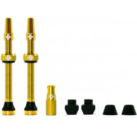 Muc-Off Tubeless Valve Kit 60mm/Gold