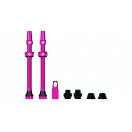 Muc-Off Tubeless Valves/80mm/Pink