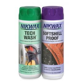 Discontinued Nikwax Tech Wash & Softshell Proof Single Dose