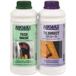 Nikwax Tech Wash & TX Direct Twin Pack 1 Litre