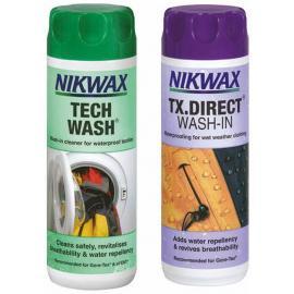 Nikwax Tech Wash & TX Direct Twin Pack 300ml