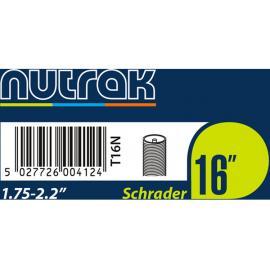 Nutrak 16 x 1.75 - 2.125in Inner Tube Schrader Car Type Valve
