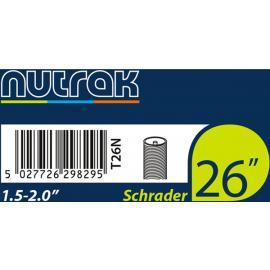 Discontinued NUTRAK 26 X 1.50 - 2.00in Schrader Inner Tube