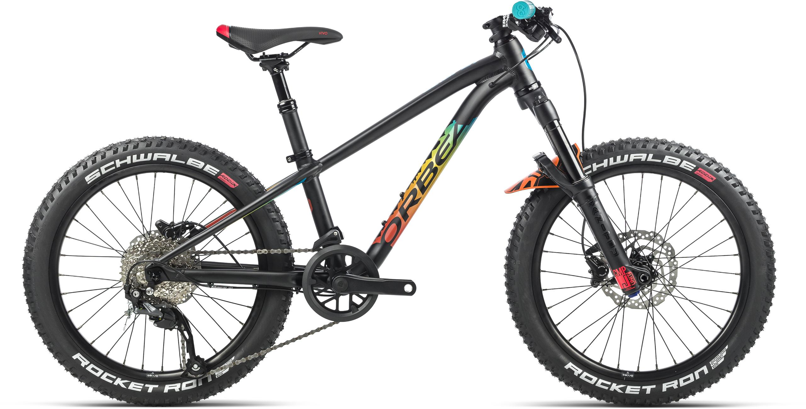 orbea laufey 20 h10 kids bike black-rainbow 2021 - j e