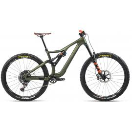 Orbea RALLON M10  FS MTB Green/Orange 2021