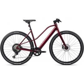 Orbea VIBE MID H10  E-Bike Urban Dark Red 2021