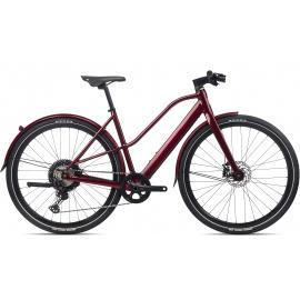 Orbea VIBE MID H10 MUD  E-Bike Urban Dark Red 2021