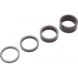 Pro Headset Spacers, Ud Carbon, 3/ 5/ 10/ 15 Mm, 1-1/4 Inch