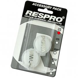 Respro Powa Elite Valves Pack of 2 Clear