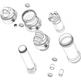 RockShox Rear Shock Eyelet Bushings 12mm 2 pieces