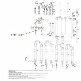 RockShox Remote Spool/Clamp Kit MoCo Reba/Revelation