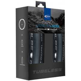 Discontinued Schwalbe Pro One Tubeless set x2 Tyres
