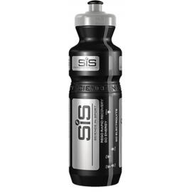 SIS Black and Silver PRO Branded Water Bottle, 800ml