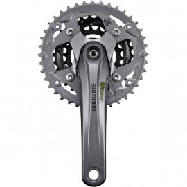 Shimano Alivio FC-M4000 Octalink Chainset Silver With Chainguard