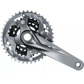 Shimano Alivio FC-M4050 2-piece Chainset With Chainguard