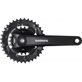 Shimano FC-MT101 Chainset 36/22 9-speed 170mm Black