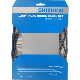 Shimano Dura-Ace Road Brake Cable Set With PTFE Coated Wire Grey