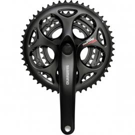 Shimano FC-A073 Square Taper 7/8speed Triple Chainset 50/39/30T