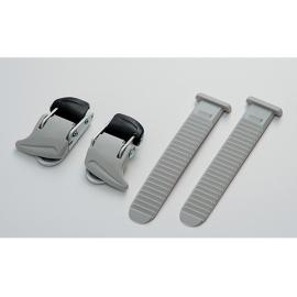 Shimano Universal Small Buckle And Strap Set Grey