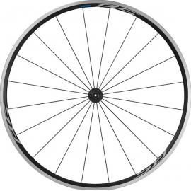 Shimano WH-RS100 Clincher Wheel, 100mm Q/R axle, Front, Black