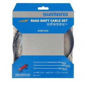 Shimano Dura-Ace 9000 Road Gear Cable Set Polymer coated inners