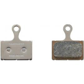 Shimano K03S Disc Brake Pads and Spring, Steel Backed, Resin