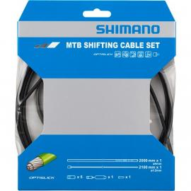 Shimano MTB Gear Cable Set for Rear only OPTISLICK coated