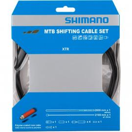 Shimano MTB Gear Cable Set for Rear only Polymer coated