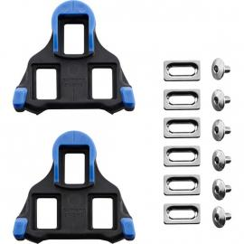 Shimano SM-SH12 Front Pivot Floating SPD SL-cleats Blue