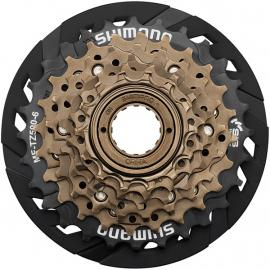 Shimano Tourney MF-TZ500 6-speed Multiple Freewheel, 14-28 tooth