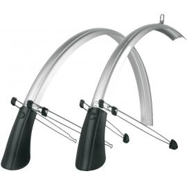 SKS Commuter 700c 35mm Narrow Mudguards Silver
