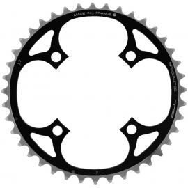 TA 4 Arm Middle Chainring 104 PCD Black