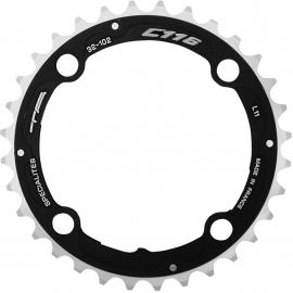 TA C116 XTR Middle 04 Chainring Black 32T