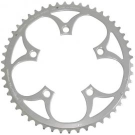 TA Zepher Outer 110PCD 5 Arm Chainring Silver 52T