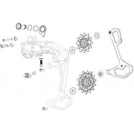 Sram Jockey Wheel Set X-Sync