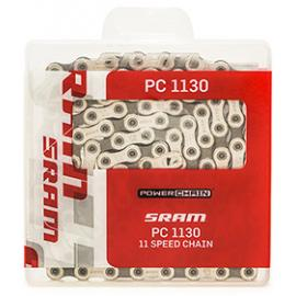 Sram PC 1130Pin 11 Speed Chain Silver 114 Link With Powerlock