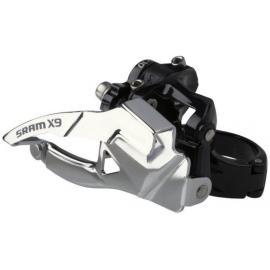 Sram X9 Front Derailleur 2x10 High Clamp 38.2 Dual Pull
