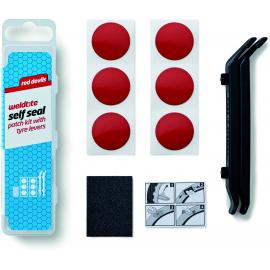 Weldtite Red Devils Self Seal Patch Kit with Tyre Levers