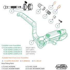 Tektro Auriga Pro Reach Kit