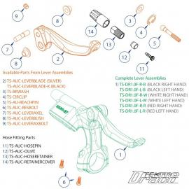 Tektro Spares '11 Draco Lever Assembly