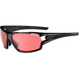 Tifosi Amok Crystal Black/Enliven Bike Red Lens