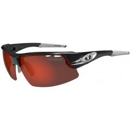 Tifosi Crit Half Frame Race Silver Clarion Red Sunglasses