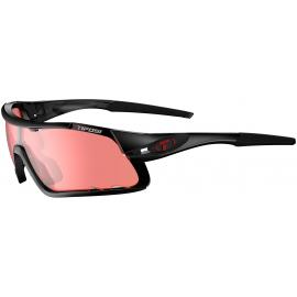 Tifosi Davos Crystal Black/Enliven Bike Red Lens