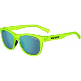 Tifosi Swank Electric Green/Smoke Bright Blue Lens